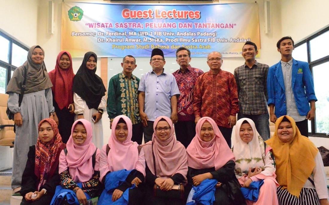 Dosen Fib Unand Beri Kuliah Umum Di Uin Ar Raniry Banda Aceh